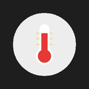 Temperatur Kontrolle im Smart Home | ZugTec