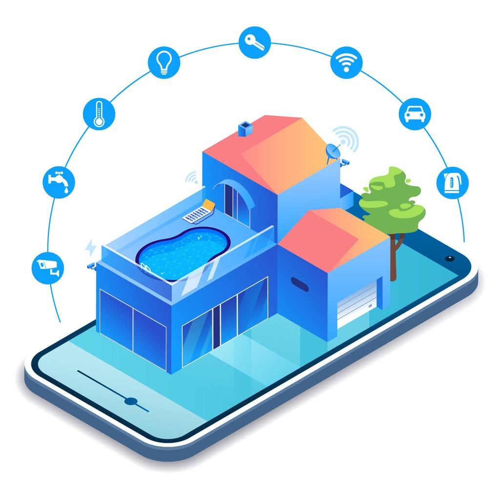 Smart Home mit Photovoltaik & Pool