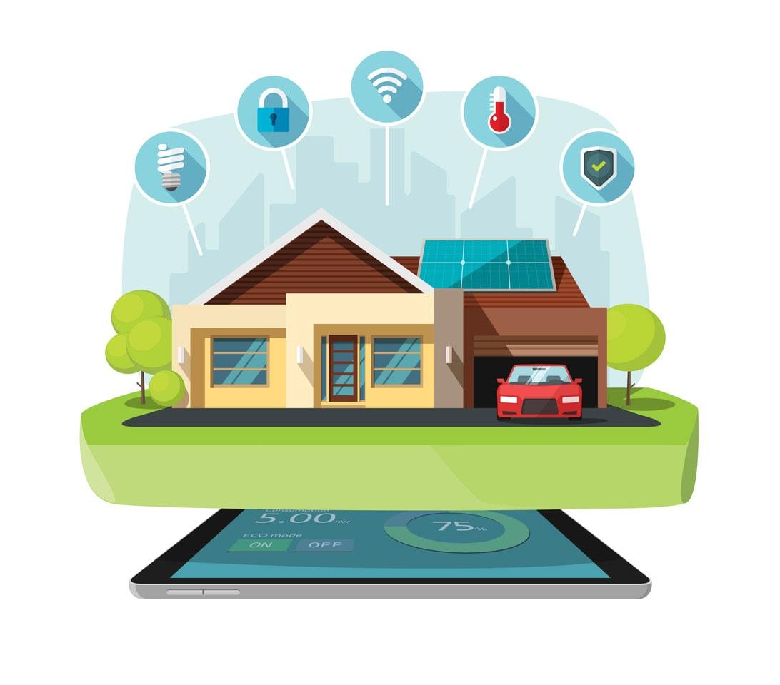 Smart Home Fertighaus